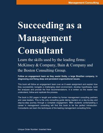 Succeeding as a Management Consultant - Capability Center