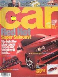 Cars (GB), 2002 - GTV6 et 156 GTA