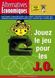 ALTERNATivEs ÉcoNomiquEs - Alternatives Economiques