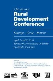 Rural Development Conference
