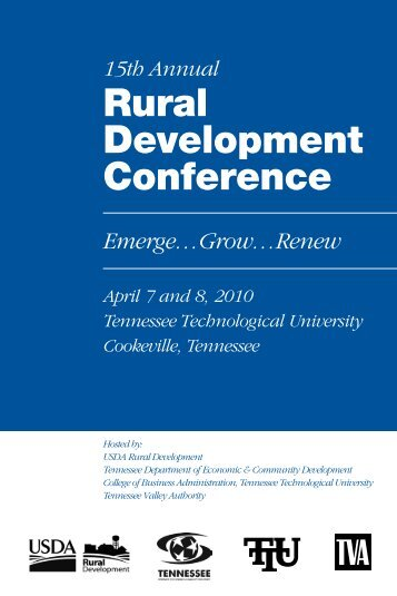 Rural Development Conference