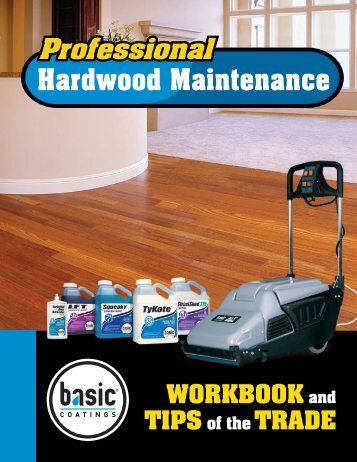 Hardwood Floor Cleaning workbook.indd - Nydree Flooring
