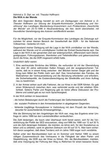 Die NVA in der Wende - aggi-info.de