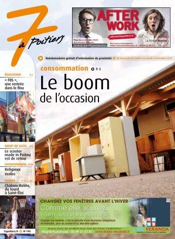 N° 190 voir ce numéro - 7 à Poitiers