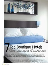 Top Boutique Hotels - 59 Project Management