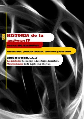 1920-1930 - Historia de la Arquitectura 4