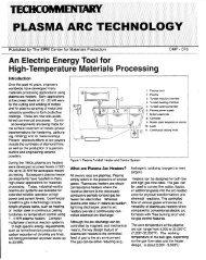 Plasma Arc Technology - Bebbcon