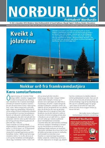 Kveikt á jólatrénu - Norðurál