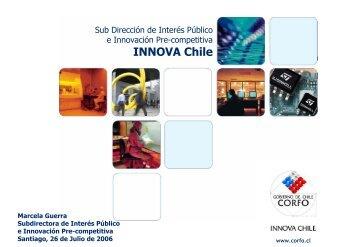 Innovacion de Interes Publico e Innovacion precompetitiva