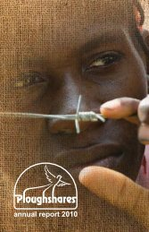 annual report 2010 - Project Ploughshares