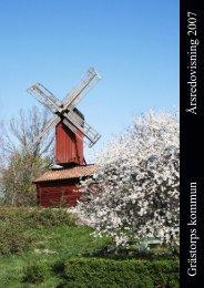 Grästorps kommun Årsredovisning 2007