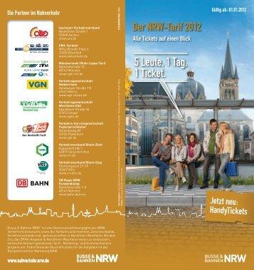 NRW-Tarif 2012 - VRS