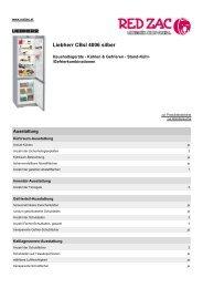 Produktdatenblatt Liebherr CBsI  4006 silber - Red Zac