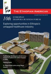 THE ETHIOPIAN AMERICAN MAGAZINE 2015 CBE VERSION