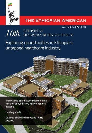 THE ETHIOPIAN AMERICAN MAGAZINE 2015 CBE VERSION