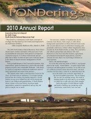 2010 Annual Report - North Dakota Natural Resources Trust