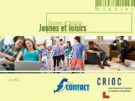 Jeunes et loisirs - Crioc