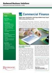 Lloyds TSB Commercial Finance Ltd. - Redwood Software