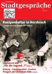 Kneipenkultur in Hersbruck