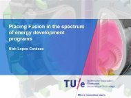 Placing Fusion in the spectrum of energy development programs