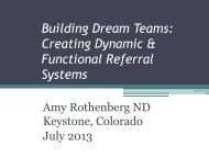 Creating Dynamic & Functional Referral Systems