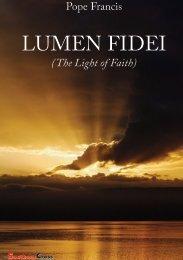 Pope Francis – Lumen fidei - The Southern Cross