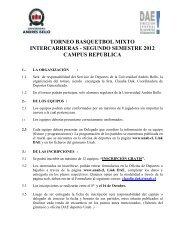 descarga las bases - Noticias Universidad Andrés Bello