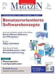 Geschäftsprozess- oder Benutzeroptimierung ... - Midrange Magazin