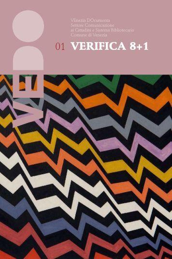 VERIFICA 8+1 - SBU - Comune di Venezia