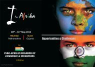 I for Afrika 2012 - Indo-African Chamber of Commerce & Industries