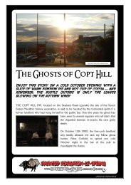 The Ghosts of Copt Hill - Houghton-le-Spring