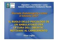 motivare al cambiamento - Ospedale di Circolo e Fondazione Macchi