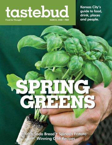March - Tastebud Magazine