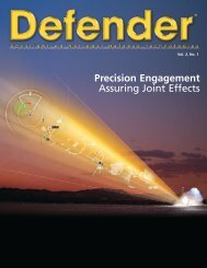 Defender. Spotlight on National Defense Technologies ... - Raytheon