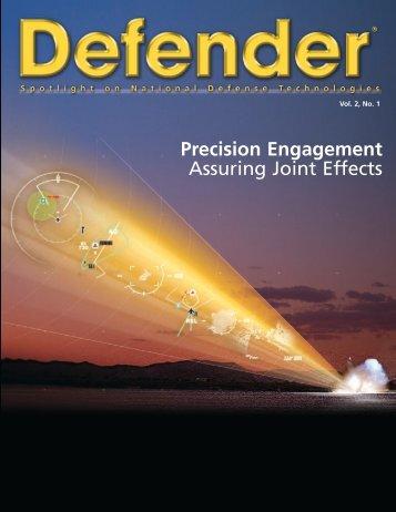 Defender. Spotlight on National Defense Technologies ... - Raytheon