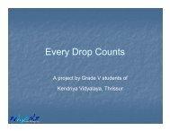 Every Drop Counts - Schools Water Portal