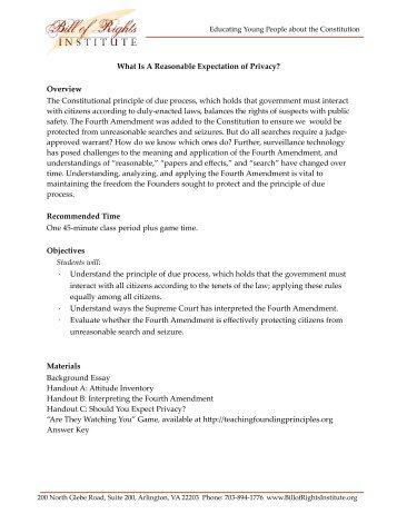 Bill Of Rights Scenario Worksheet - andrewgarfieldsource