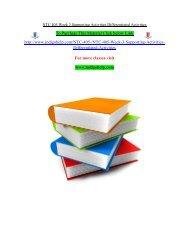 NTC 405 Week 3 Supporting Activities Differentiated Activities/ Indigohelp