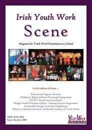 Issue 60: June 2009 - Youth Work Ireland