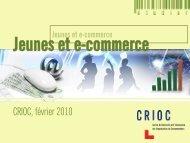 Jeunes et e-commerce - Crioc