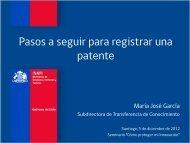 de patentes. - Inapi Proyecta
