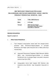 1 JPA 112/3/3 1 Klt.15 ( ) MINIT MESYUARAT PEMANTAUAN ...