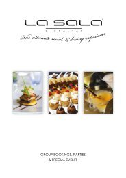 Corporate Dining Brochure 2015