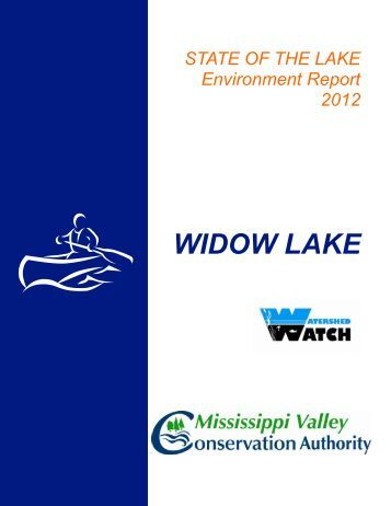 WIDOW LAKE - Mississippi Valley Conservation