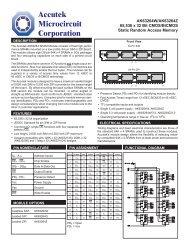 C:\Accutek\Data Sheets\SRAM Datasheets\AK63264W-Z\Ak63264w ...
