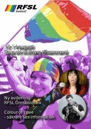 Ladda ner medlemsbladet för Sommaren 2011 i - RFSL