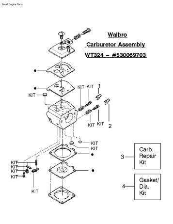 Walbro Carburetor Diagrams Wt 520carburetor Cita Asia