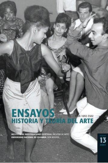 Ensayos No. 13, 2007. - Instituto de Investigaciones Estéticas