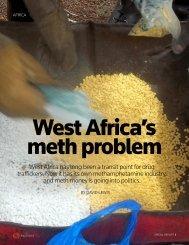AFRICA-DRUGS:METHAMPHETAMINE