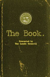 The Book. - The Lands Council